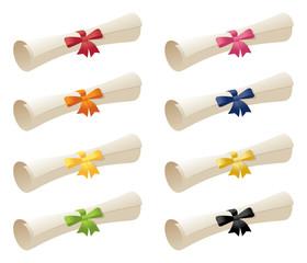 Scrolls & Ribbons