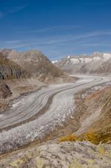 Bettmeralp, Dorf, Moosfluh, Gletscher, Aletsch, Schweiz