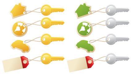 Keys and Tags