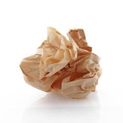 Papier kraft froissé