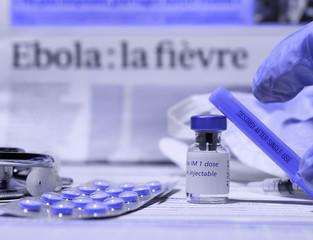 recherche et développement : vaccin ebola