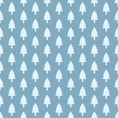 Vector trees  seamless patterns
