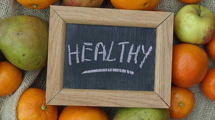 Healthy written