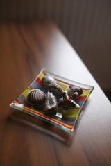 Chocolate seafood