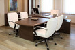 empty manager office with luxurious furniture - 76434186