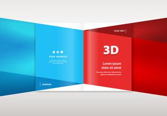 brochure design template - booklet catalog