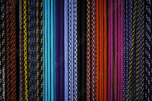 canvas print picture Verschiedenfarbige Seile