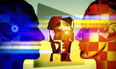 Futuristic exchange of ideas
