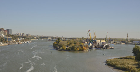 River Don in Rostov-on-Don