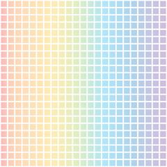 piastrella arcobaleno