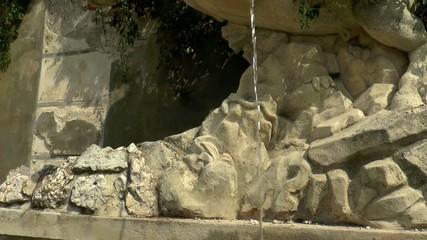 castle fountain