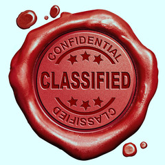 classified info stamp