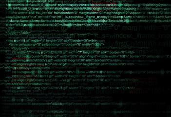 Concept of Web program code