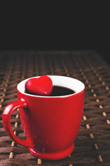 Red cup of tea with heart_2
