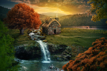 Peaceful cottage © Kevin Carden