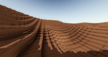 Wood Pixelated17