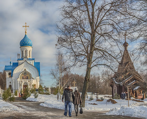 Moscow. Govorovo. Nativity of the Blessed Virgin Mary
