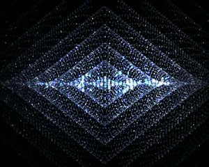 мерцание  алмазных  линий