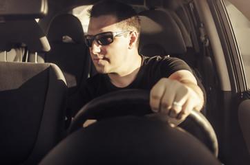 Car driver.