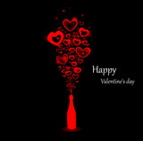 Banner for the day Valentine