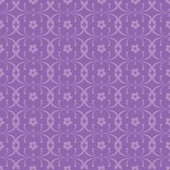 Floral purple vintage background.