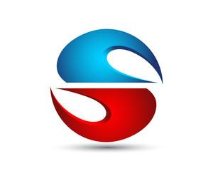 S Letter Logo Template