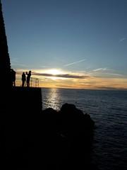 Scatto al tramonto