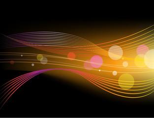 vector shiny abstract horizontal background