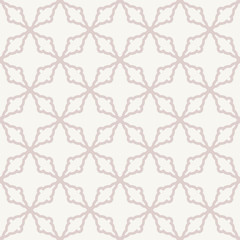 Geometric Seamless Vector Abstract Pink Pattern