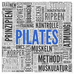 Pilates | Konzept Word Cloud