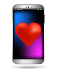 Heart smart phone