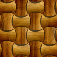 Abstract paneling pattern - seamless background - wood paneling