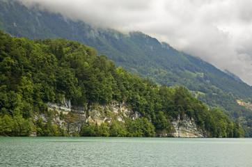Lake Brienz in Interlaken. Switzerland