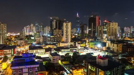 City Traffic TIme Lapse Panama City