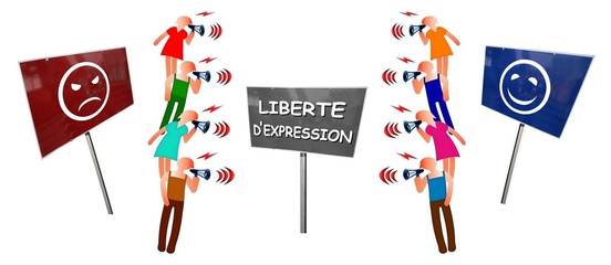 """Débat  """"Liberté d'expression:  pour ou contre"""""""