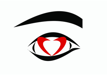 heart in eye II