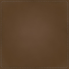 Brown textile background with seams
