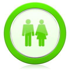 couple icon people sign team symbol