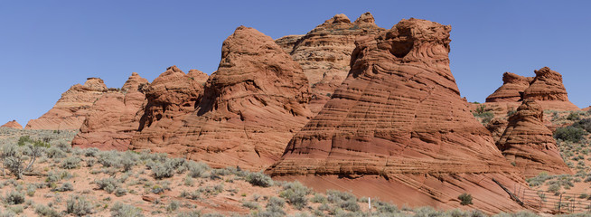 Coyote Buttes South - Welleförmiger Sandstein