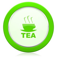tea icon hot cup of tea sign
