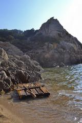 Sardegna: La zattera
