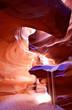 Leinwanddruck Bild - Upper Antelope Canyon