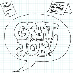 Positive Job Reinforcement Messages