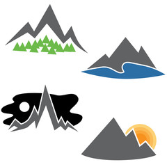 Mountain Range Set