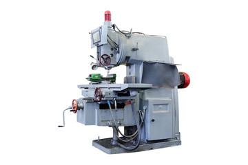 image of a drill press