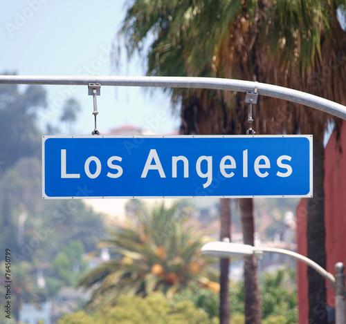 Los Angeles Los Angeles Street Sign