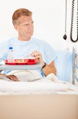 Hospital: Man Doesn't Like Hospital Food