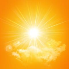 hot summer sunlight