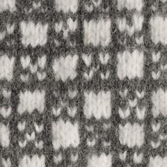 Gray mitten background grey white texture woolen mittens pattern