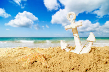 Anchor At The Beach